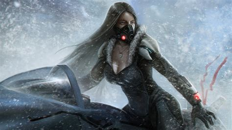 lost planet snow girl wallpapers hd wallpapers id