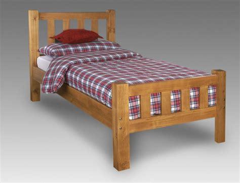 limelight astro ft single pine wooden bed frame