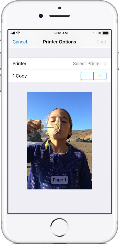 to print a picture from iphone use airprint to print from your iphone or ipod