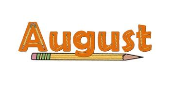 Calendar Headings--Month Names by Miss Jennings | TpT