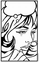Coloring Pop Lady Crying Drawing Sheets Projects Daft Punk Comic Painting Printable Pdf Mural Getdrawings Artprojectsforkids Combined Come Getcolorings Sensational sketch template