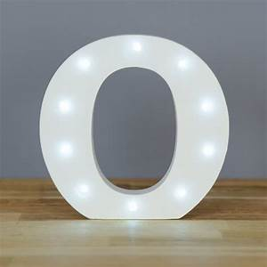light up letter o home decor barbours With letter o light