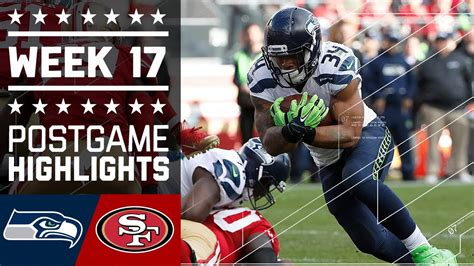 seahawks  ers nfl week  game highlights youtube