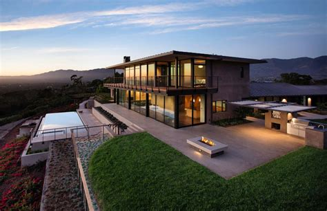 modern kitchen island ideas contemporary hilltop home in california gets brilliant