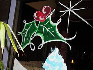 Images, For, U0026gt, Christmas, Window, Painting, Designs