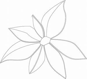 Flower Outline Imperfect Clip Art at Clker.com - vector ...