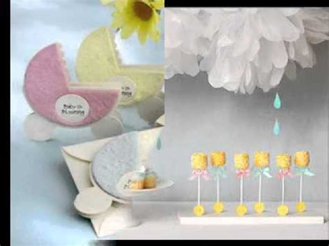 DIY Baby shower favors decorating ideas homemade YouTube