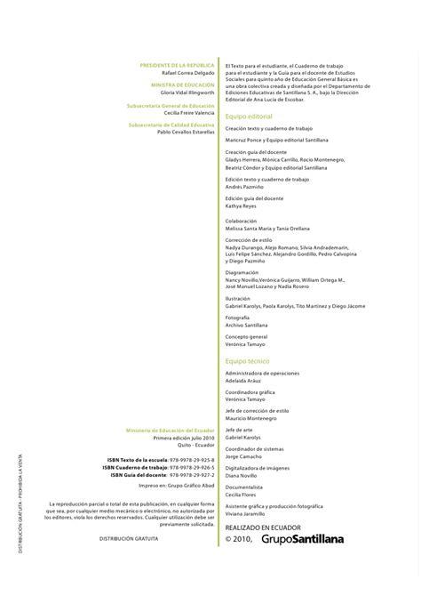 libro estudios sociales 5 de acuerdo al curriculo de