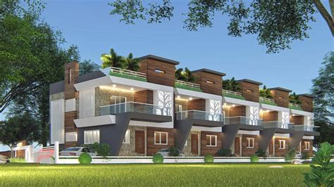 residential elevation panash design studio small house
