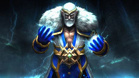 dota  heroes zeus magic fighter computer games desktop hd