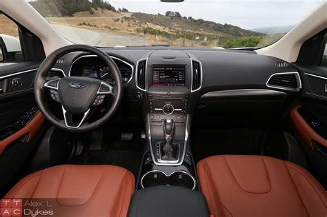 ford edge interior colors 2015 ford edge ecoboost review with