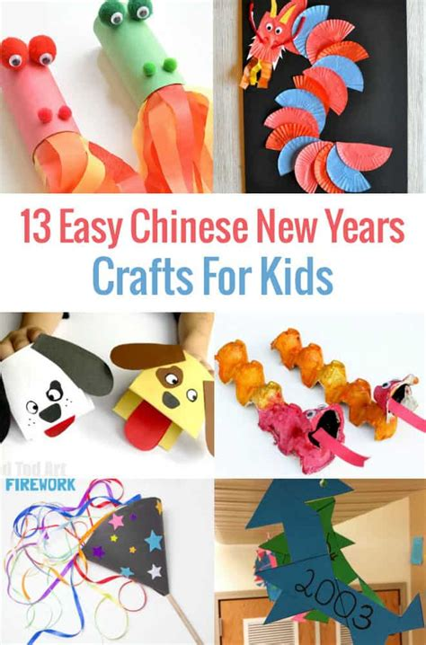 13 easy to make new year crafts for socal 696 | 13 Easy Chinese New Years Crafts For Preschool