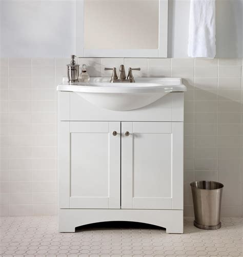 Small White Vanity by White Bathroom Vanity The Pros And Cons Interior
