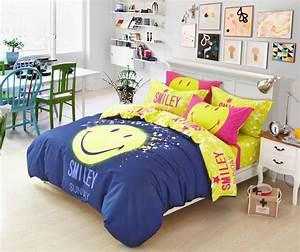 Housse De Couette Ado Ikea : ikea yellow duvet chambre scandinave jaune housse couette smiley tie dye jersey comforter and ~ Teatrodelosmanantiales.com Idées de Décoration
