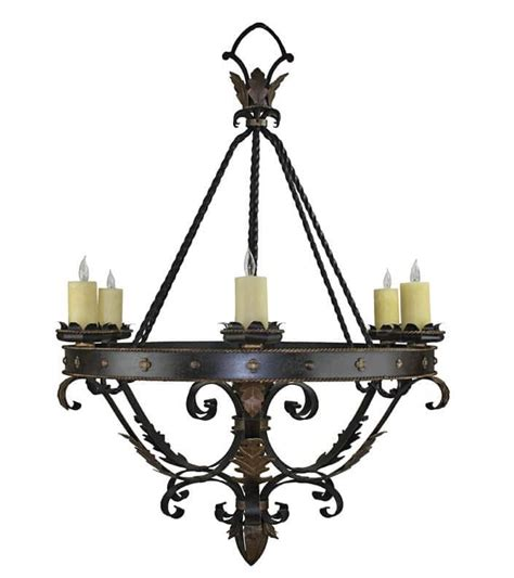 mexican chandeliers custom wrought iron lights forged chandeliers