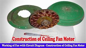 Working Of Fan With Circuit Diagram