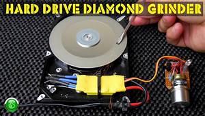 Computer Hard Drive  Hdd  Variable Speed Diamond Grinder