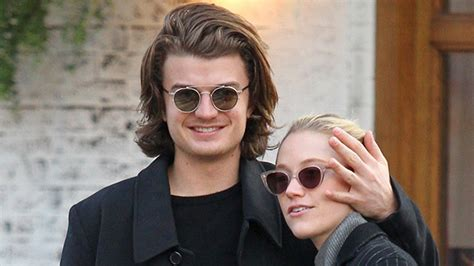 'stranger things s joe keery and gf maika monroe kissing nyc date pics hollywood life