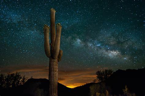 The Mystical Desert Skies Of Arizona Journey Into The