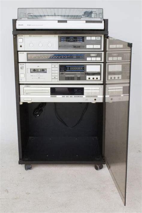 philips hifi stereo toren  philips audio kast