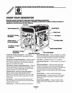 Generac 5500xl Generator Owners Manual