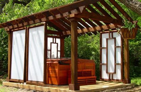We've got a few to share with you, and we hope that you'll consider them as you install your own hot tub. 14 best images about Hot tub enclosure/landscaping ideas on Pinterest | Landscaping ideas ...