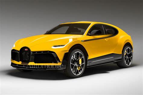 Bugatti's list of road car models: Bugatti: We're Considering a 312 MPH Chiron and an SUV   Automobile Magazine