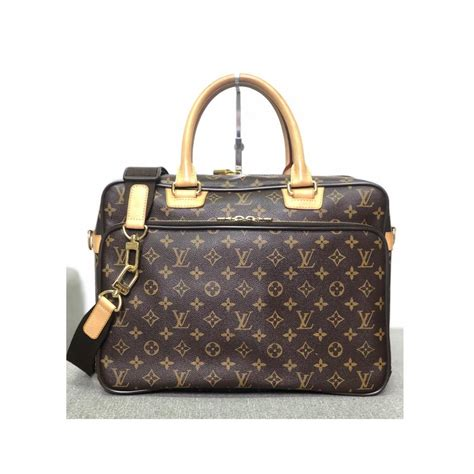 louis vuitton messenger icare briefcase monogram laptop