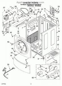 Whirlpool Duet Dryer Parts Diagram