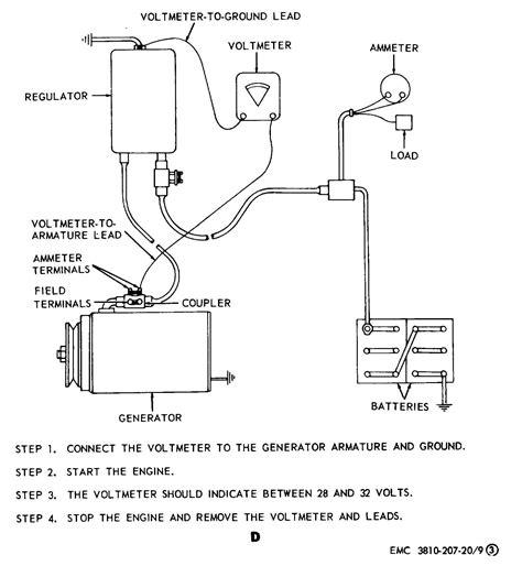 12 Volt Electrical Wiring by 12 Volt Generator Voltage Regulator Wiring Diagram