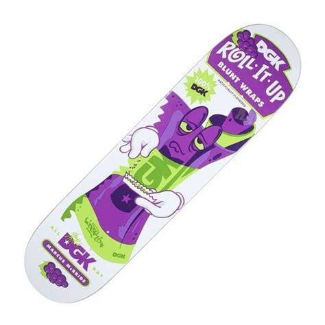 Dgk Skateboard Decks Uk by Dgk Mcbride Roll It Up Skateboard Deck 8 0