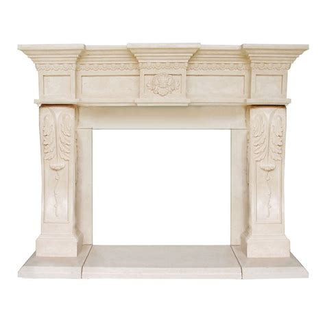Gas L Mantles Home Depot by Historic Mantels President Series Oxford 52 In X 62 In