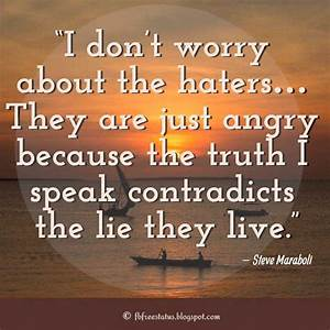 Hater Quotes an... Spitefulness