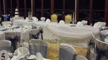 wedding chair covers swansea chair covers weddings in wales at craig y nos castle
