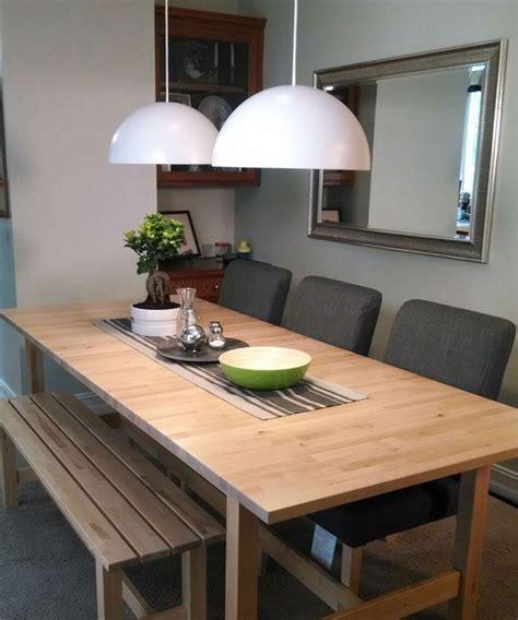 banc cuisine ikea table et banc cuisine table en bois vintage table de