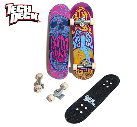 Tech Deck Longboard by Atm Click Skateboards Richard Vaughan Graphic Design