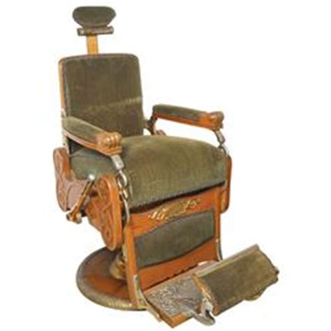 barber chair koken mfgd in st louis a wood chair that