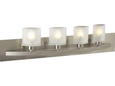 plc lighting wyndham satin nickel four light halogen