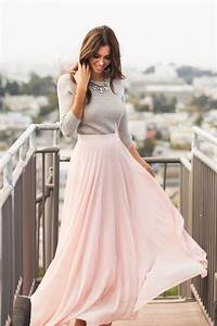 25+ best ideas about Long Skirt Outfits on Pinterest | Long summer skirts Boho spring outfits ...