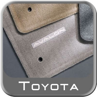 Toyota Avalon Floor Mats Oem by New 2005 2012 Toyota Avalon Carpeted Floor Mats From