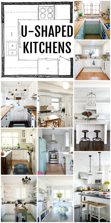 L Shaped Kitchen Remodel Ideas - remodelaholic popular kitchen layouts and how to use them