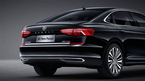 volkswagen revealed     passat  china