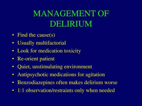 delirium dementia depression  competency