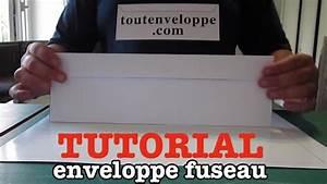 Comment Fabriquer Une Enveloppe : comment faire une enveloppe papier grand format youtube ~ Melissatoandfro.com Idées de Décoration