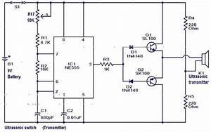 Electronics For Beginner U0026 39 S  Ultrasonic Switch