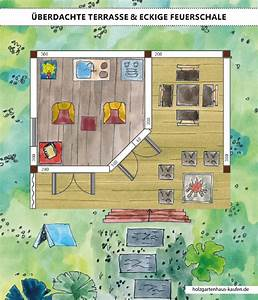 Gartenhaus Mit überdachter Terrasse : gartenhaus mit berdachter terrasse skizze grillecke 45 wand und windschutz holzgartenhaus ~ One.caynefoto.club Haus und Dekorationen