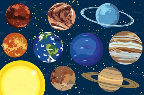 Planets Clipart Planets Clipart Page 3 Pics About Space
