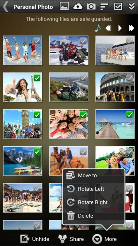 gallery app for android gallery lock pro hide picture android apps on play