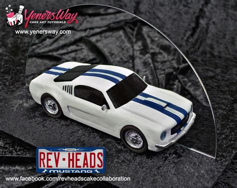 rev heads cake collaboration  ford mustangs
