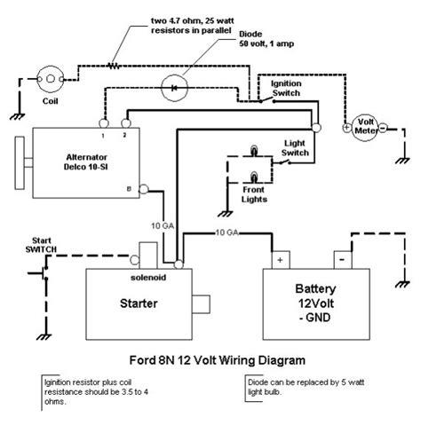 6 Volt Autolite Generator Wiring Diagram by Wiring Diagram For 6v Tractor Voltage Regulator Positive